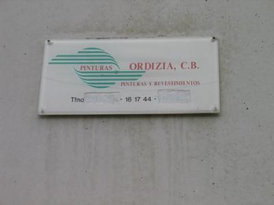 Pinturas Ordizia C.B.